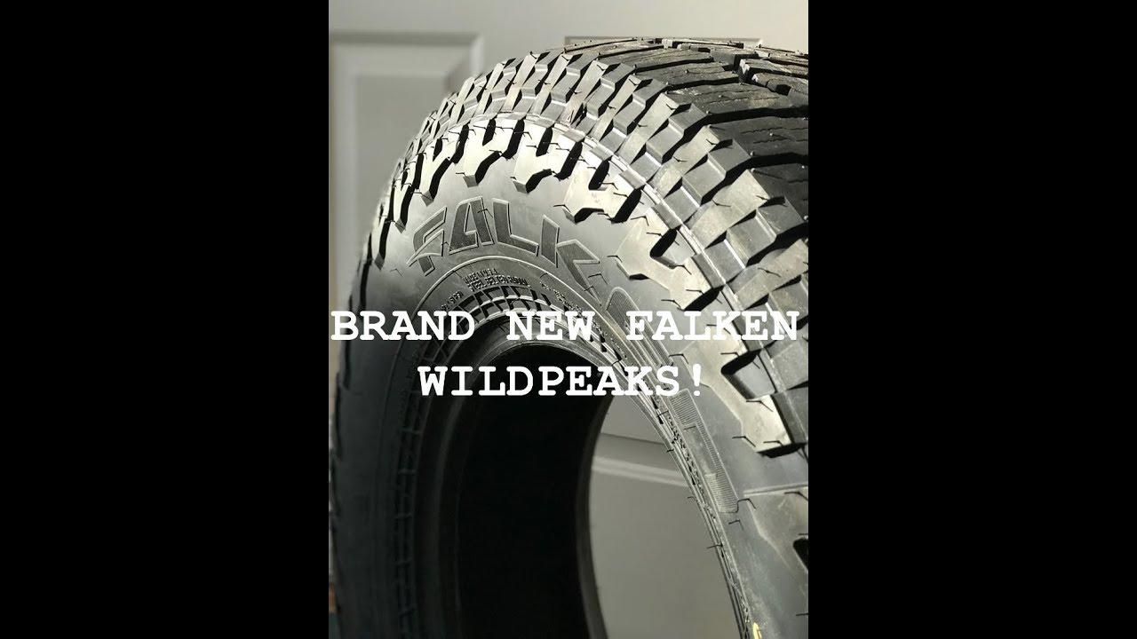 בנפט Comparing NEW Falken Wildpeak AT3W Tires to Stock Tires on Tacoma YI-32