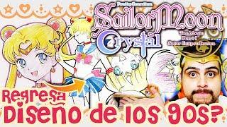 ¡Cambio de diseño en las NUEVAS PELÍCULAS de Sailor Moon Crystal! ¿Regresan los 90s?