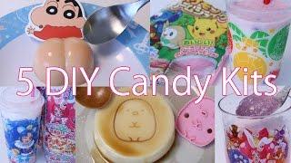 5 DIY Japanese Interesting Candy Kits thumbnail