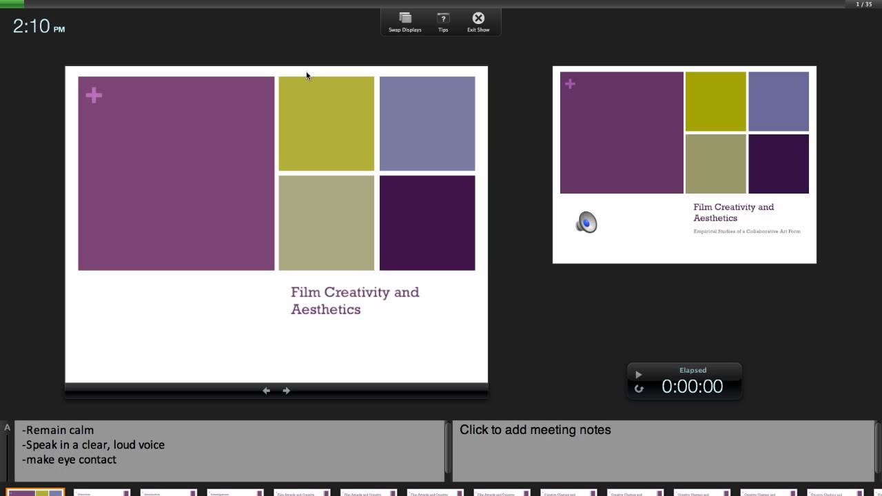 How to show powerpoint notes during presentation youtube toneelgroepblik Choice Image