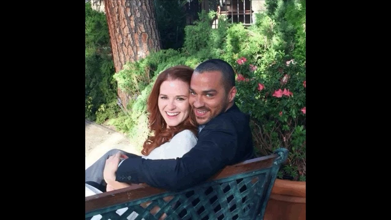 Jesse Williams and Sarah Drew Want Jackson and April Back ... Jesse Williams And Sarah Drew