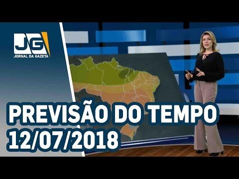 Previsão do Tempo – 12/07/2018