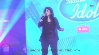 Sunidhi Chauhan Singing Aa Zara & Ishq Sufiyana Live (Unplugged) - HD