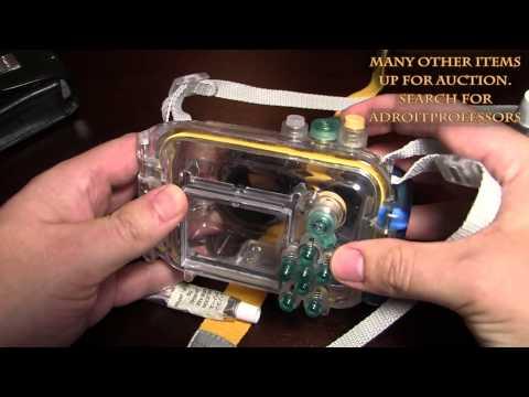 Canon WP-DC80 underwater camera case