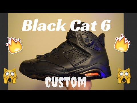 Black Cat 6 Custom