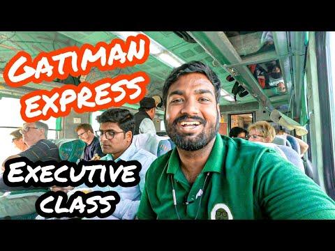 Gatiman Express Executive Class Full Journey  || Indian Railways Review