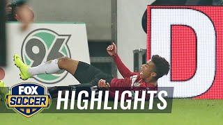Linton Maina's goal gets Hannover the lead over Wolfsburg | 2018-19 Bundesliga Highlights