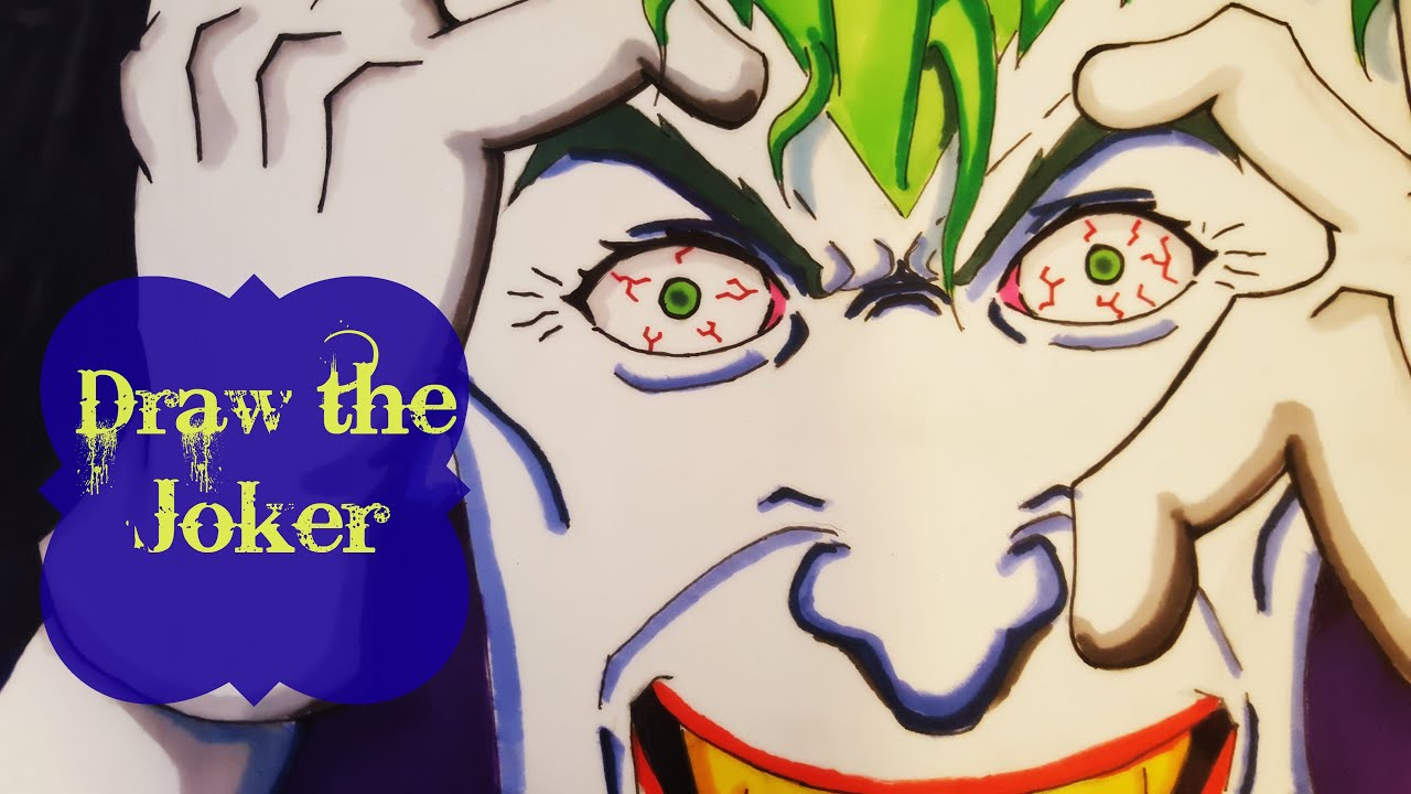 Draw the joker the killing joke youtube draw the joker the killing joke ccuart Image collections