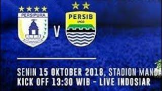 Live Persipura Jayapura Vs Persib Bandung