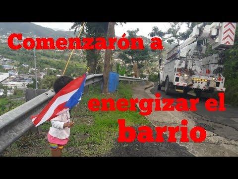 Comenzarón a Energizar nuestro Barrio | vlogs post huracan | mshappiness maternity vlogs