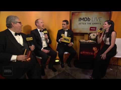 Veep Stars Dave Mandel and Matt Walsh on Their Emmy Win