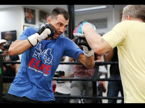 Viktor Postol Wildcard Boxing Gym Workout
