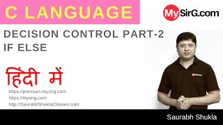 Lecture 6 Decision Control in C Part 2 Hindi