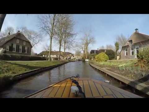 Giethorn : Venice of the North, The Netherlands