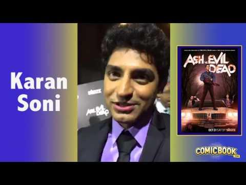 Karan Soni On Ash Vs. Evil Dead Red Carpet