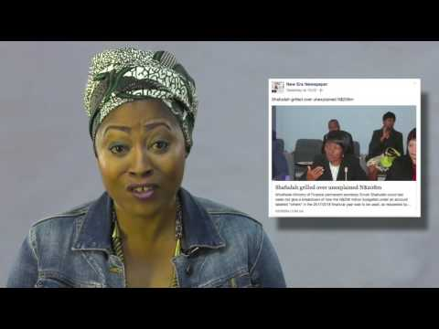 It's  A Wrap: Blatant Corruption in Namibia!