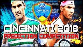 ATP Masters - Cincinnati 2018 - Prediction Competition | Tennis Warden