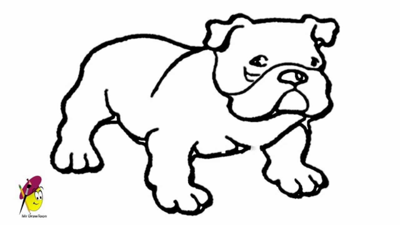 Uncategorized Bull Dog Drawing bull dog drawing how to draw a youtube dog