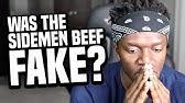 WAS THE SIDEMEN BEEF FAKE?
