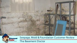 Customer Review | Seepage | Mold | Foundation Repair | The Basement Doctor | Columbus Ohio