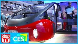 Rinspeed Oasis : un prototype de voiture très cocooning ! CES 2017