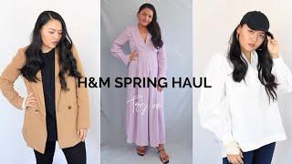 H&M Spring Try on Haul⎜Fashionbeautybug