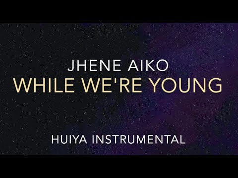 [Instrumental/karaoke] Jhené Aiko - While We're Young [+Lyrics]