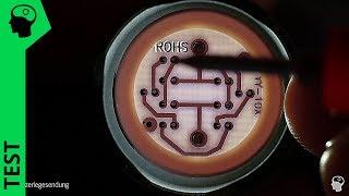 Unerwartet spannend - 230V LED Kontrollleuchte zerlegt