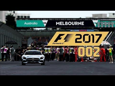 F1 2017 KARRIERE 🚥 S01E02 • Heiße Duelle im ALBERT PARK • LET'S PLAY