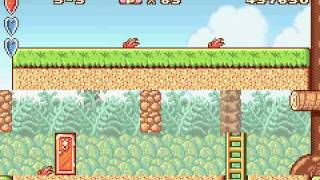Game boy Advance Longplay [024] Super Mario Advance
