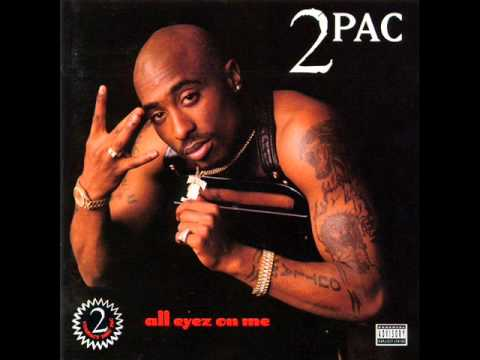 Tupac - 01. Ambition Az A Ridah  (HQ+LYRICS)