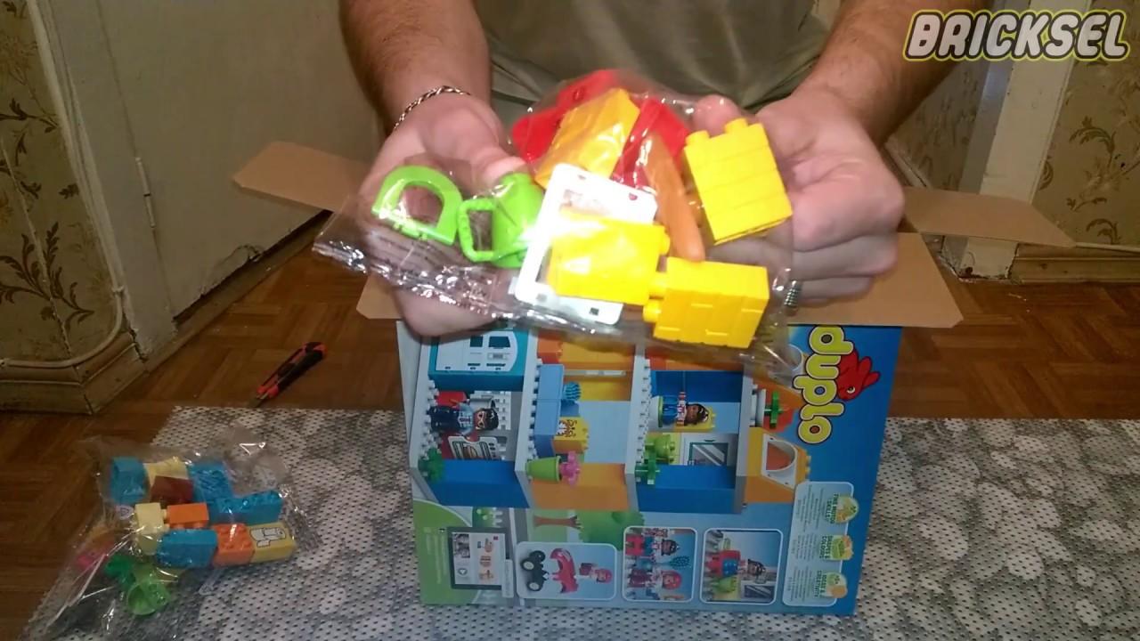 LEGO DUPLO 10835 Family House unboxing set