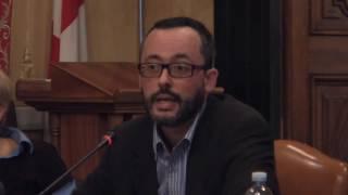 Intervento di maurizio fiorillo (ricercatore isr la spezia) il 6 ottobre 2016, nella sala consiliare palazzo doria spinola, al convegno sul progetto ri...