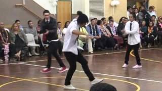 Tongan Young Youth Pin Drop Jerk Dance Item