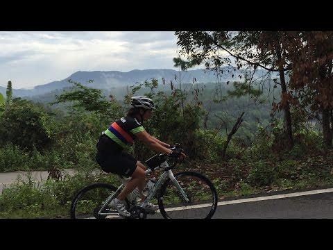 WORLDS HARDEST CLIMB? Cycling Doi Inthanon- Back roads!