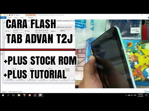 Cara Flashing Tab Advan T2J Lengkap Dengan Stock Rom Dan Tutorial