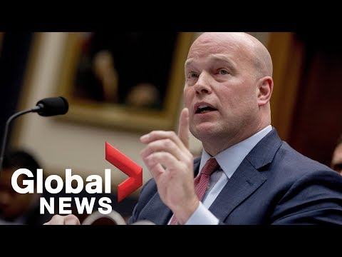 Acting AG Matt Whitaker's FULL testimony before House panel