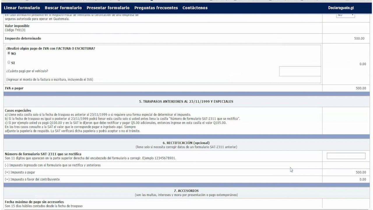 formulario sat 8209
