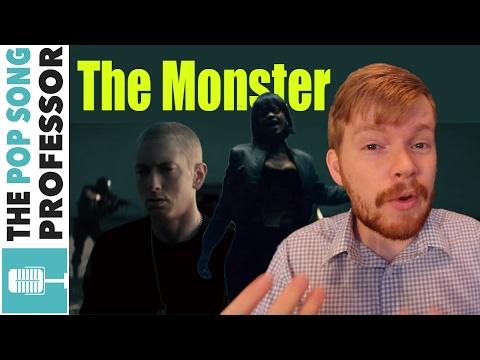 Eminem - The Monster ft. Rihanna | Song Lyrics Meaning Explanation