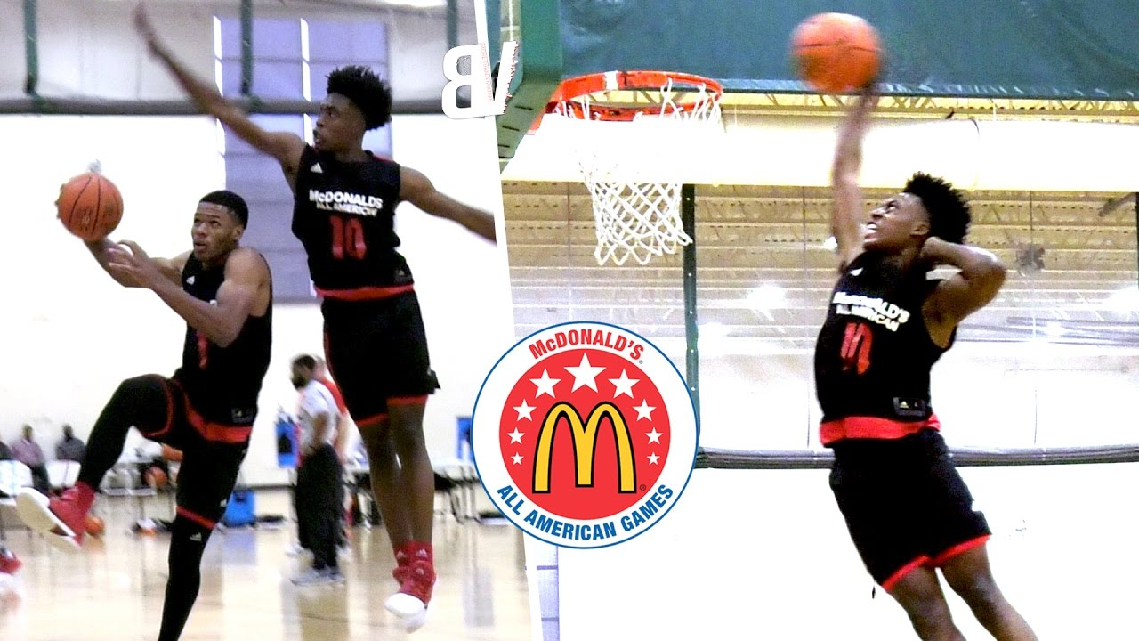 9943fc863 McDonald s All-American Day 2 Practice BEST Highlights - Collin Sexton  Michael Porter   More READY!