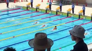 2018 北信越大会 男子100m平泳ぎ 予選 岩佐陸生 thumbnail