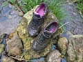 Her Nike Airmax Tailwind in deep mud!