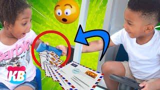 YOU'VE GOT MAIL! USPS Mail Truck   Kamdenboy & Kyraboo have a PO BOX
