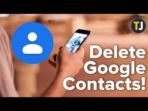 Deleting All Your Contacts From Google Contacts!