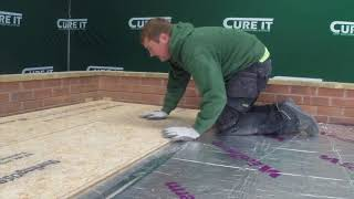 How to install a Warm Deck Roof