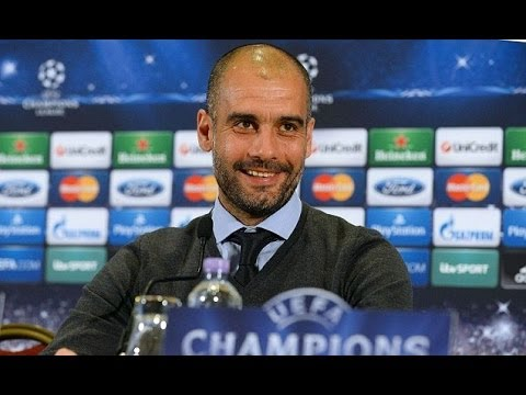 Pep Guardiola Jokes About Being Offered The Man Utd Manager Job - Manchester United vs Bayern Munich