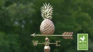 Good Directions 9635p Pineapple Weathervane - Polished Copper