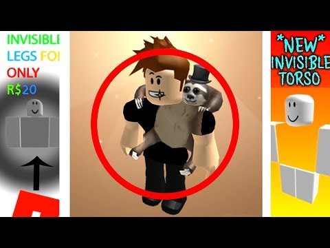 NEW INVISIBLE CLOTHING! *WARNING* (Roblox)