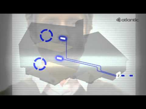 climatisation reversible atlantic youtube. Black Bedroom Furniture Sets. Home Design Ideas