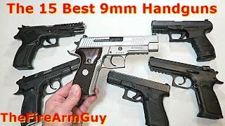 The 15 Best 9mm Handguns in Today
